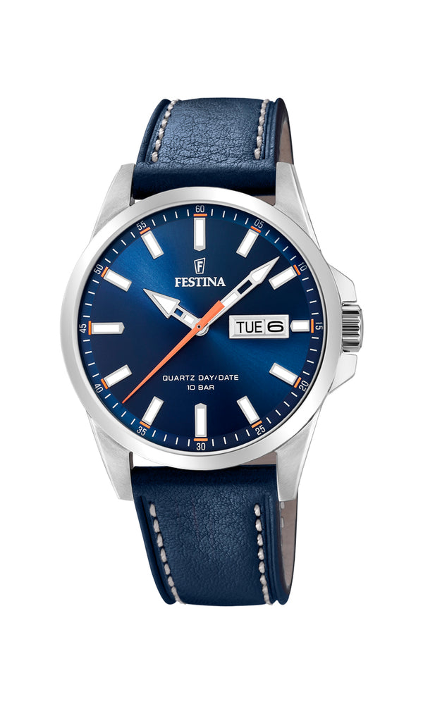 Festina Mens Watch F20358/3 - Hamilton & Lewis Jewellery