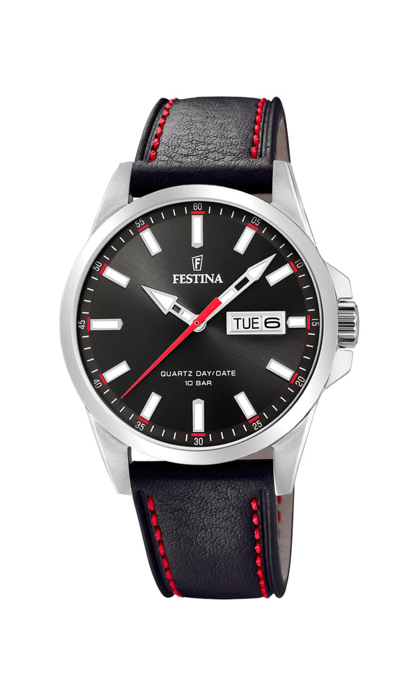 Festina Mens Watch F20358/4 - Hamilton & Lewis Jewellery