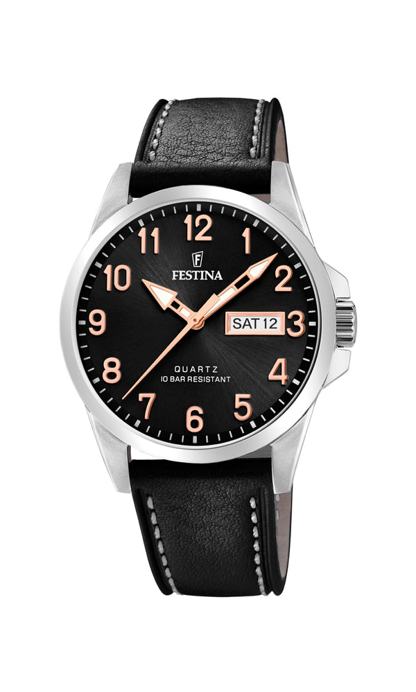 Festina Mens Watch F20358/D - Hamilton & Lewis Jewellery
