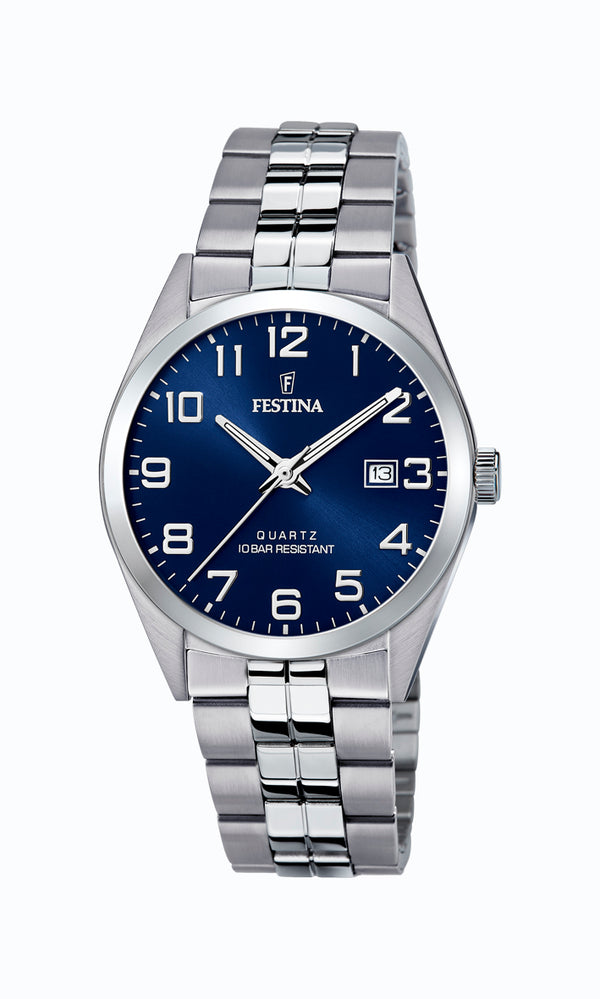 Festina Mens Watch F20437/3 - Hamilton & Lewis Jewellery