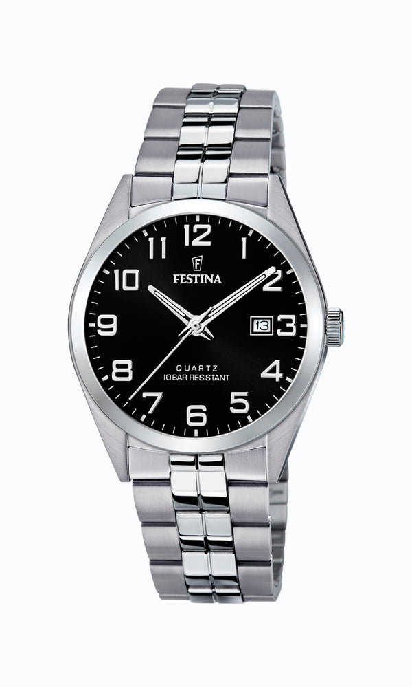 Festina Mens Watch F20437/4 - Hamilton & Lewis Jewellery