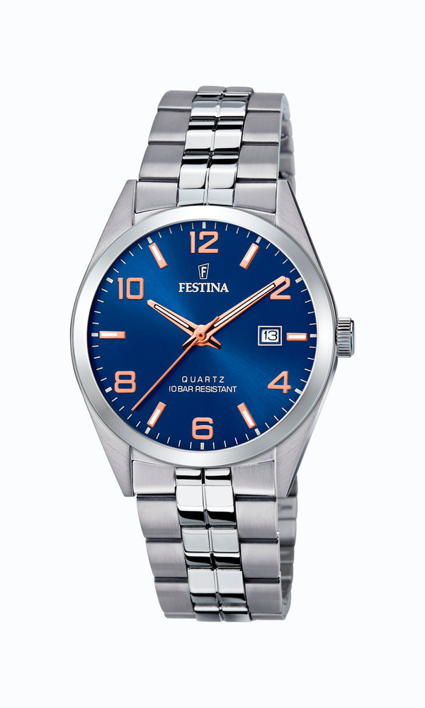 Festina Mens Watch F20437/7 - Hamilton & Lewis Jewellery