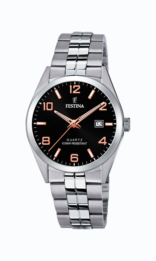 Festina Mens Watch F20437/8 - Hamilton & Lewis Jewellery