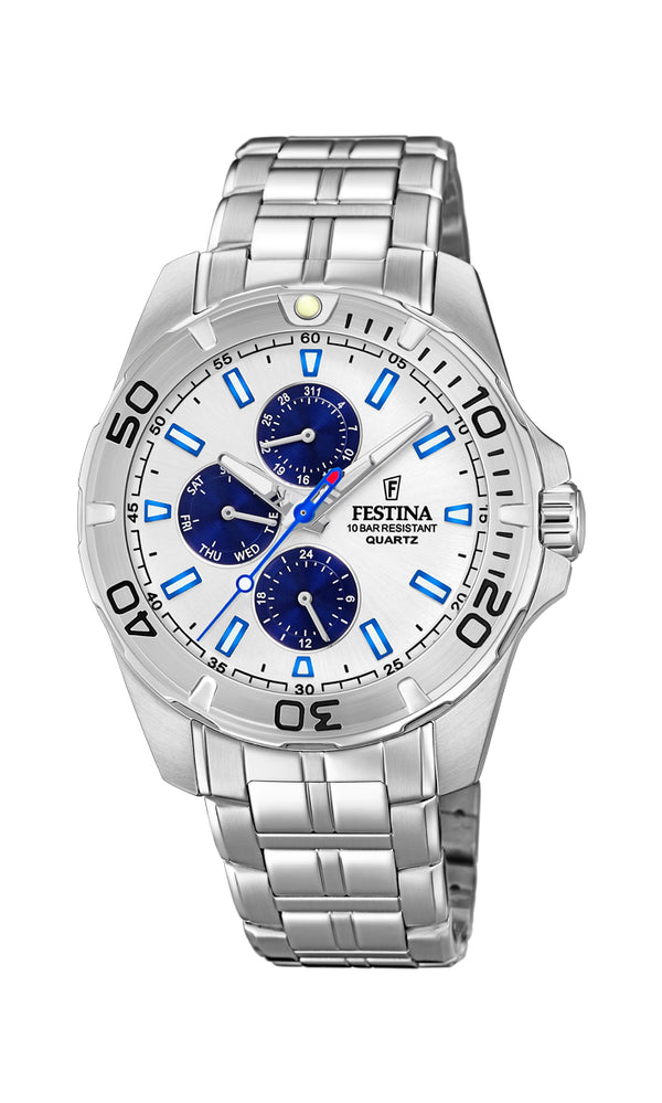 Festina Mens Chrono Watch F20445/1 - Hamilton & Lewis Jewellery