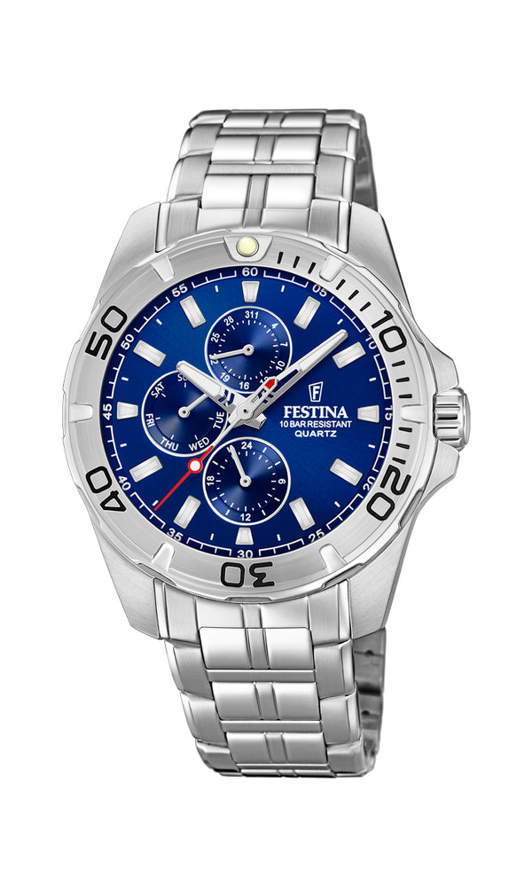 Festina Mens Chrono Watch F20445/2 - Hamilton & Lewis Jewellery