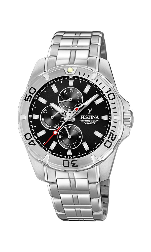Festina Mens Chrono Watch F20445/3 - Hamilton & Lewis Jewellery