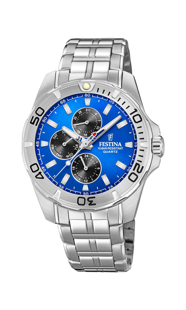 Festina Mens Chrono Watch F20445/4 - Hamilton & Lewis Jewellery