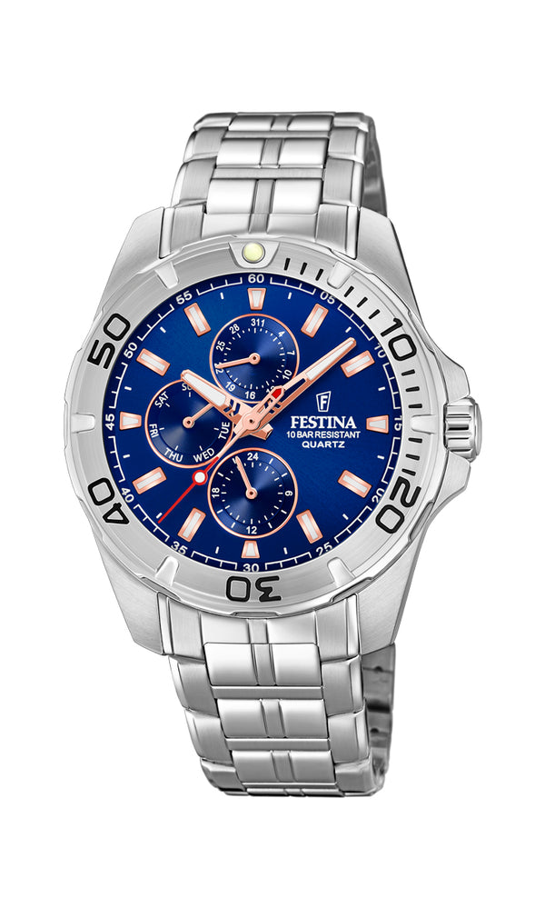 Festina Mens Chrono Watch F20445/5 - Hamilton & Lewis Jewellery