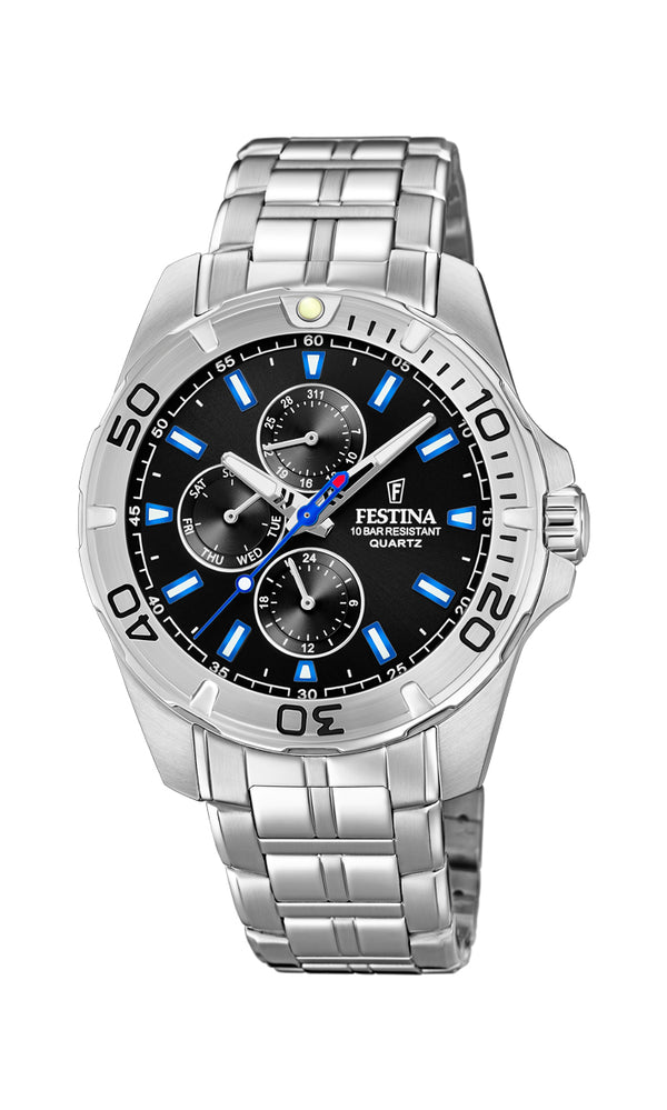 Festina Mens Chrono Watch F20445/6 - Hamilton & Lewis Jewellery