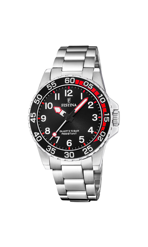 Festina Mens Watch F20459/3 - Hamilton & Lewis Jewellery