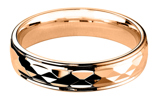 4mm Mens Ring with F66 finish - Hamilton & Lewis Jewellery
