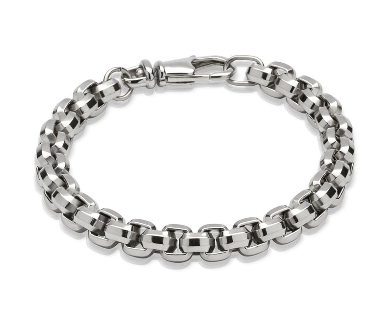 Unique & Co Stainless Steel Bracelet LAB-74 - Hamilton & Lewis Jewellery