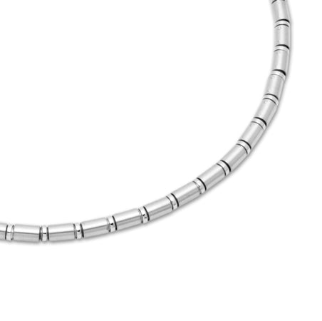 Unique & Co Stainless Steel Necklace LAK-50 - Hamilton & Lewis Jewellery