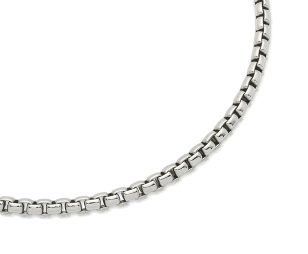 Unique & Co Stainless Steel Necklace LAK-68 - Hamilton & Lewis Jewellery