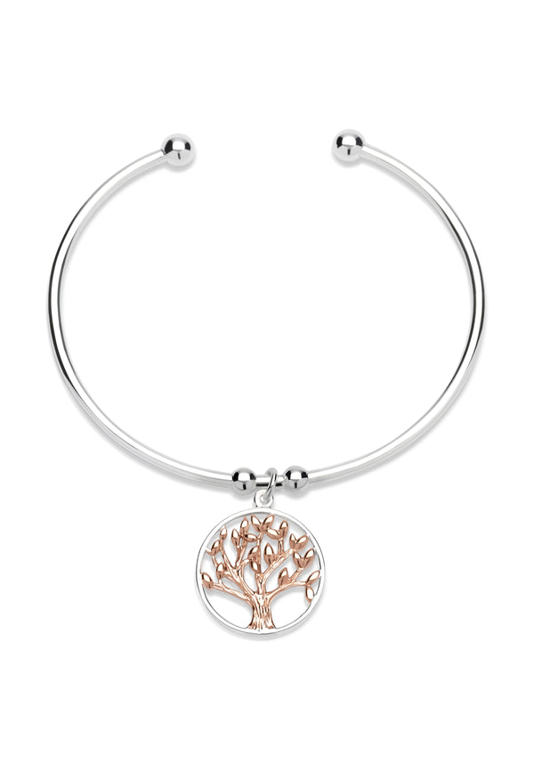 Unique & Co Ladies Sterling Silver Bangle MB-584
