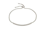 Unique & Co Ladies Sterling Silver Bracelet MBR-582 - Hamilton & Lewis Jewellery