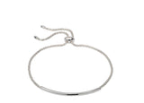 Unique & Co Ladies Sterling Silver Bracelet MBR-589 - Hamilton & Lewis Jewellery
