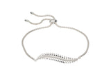 Unique & Co Ladies Sterling Silver Bracelet MBR-595 - Hamilton & Lewis Jewellery