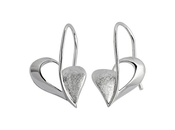Unique & Co Ladies Sterling Silver Earrings ME-251 - Hamilton & Lewis Jewellery