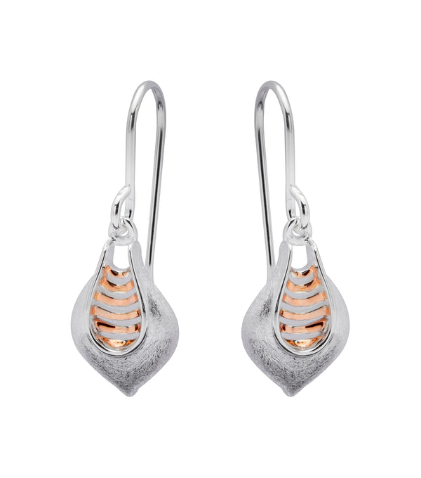 Unique & Co Ladies Sterling Silver Earrings ME-392 - Hamilton & Lewis Jewellery