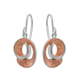 Unique & Co Ladies Sterling Silver Earrings ME-499 - Hamilton & Lewis Jewellery