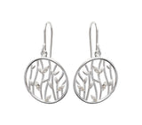 Unique & Co Ladies Sterling Silver Earrings ME-523 - Hamilton & Lewis Jewellery