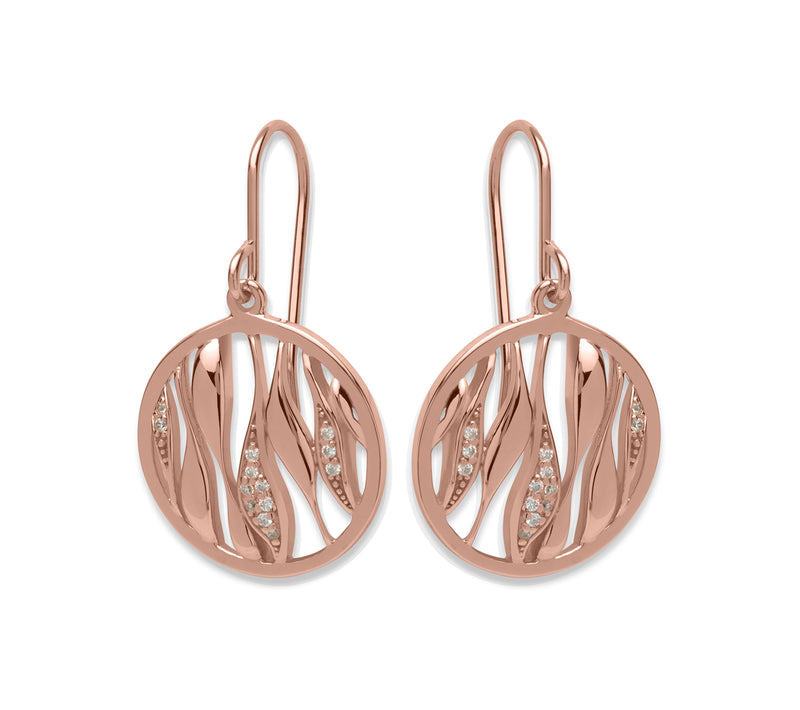 Unique & Co Ladies Sterling Silver Earrings ME-524 - Hamilton & Lewis Jewellery