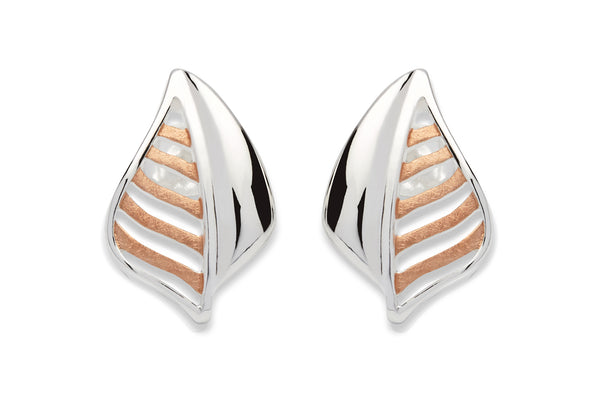 Unique & Co Ladies Sterling Silver Earrings ME-537 - Hamilton & Lewis Jewellery
