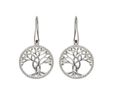 Unique & Co Ladies Sterling Silver Earrings ME-547 - Hamilton & Lewis Jewellery