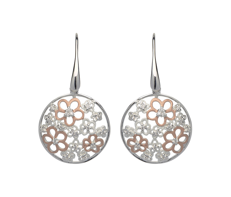 Unique & Co Ladies Sterling Silver Earrings ME-562 - Hamilton & Lewis Jewellery