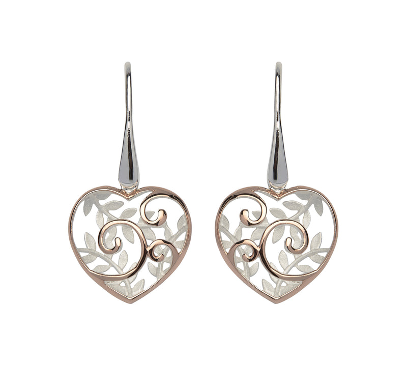 Unique & Co Ladies Sterling Silver Earrings ME-566 - Hamilton & Lewis Jewellery