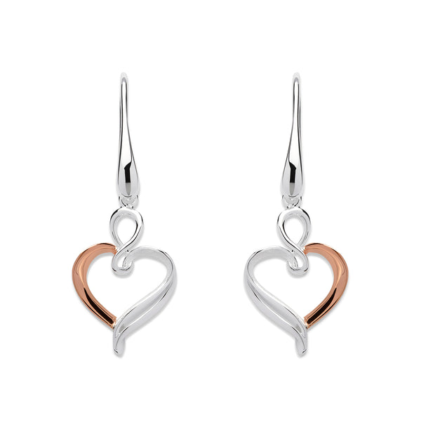Unique & Co Ladies Sterling Silver Earrings ME-573 - Hamilton & Lewis Jewellery