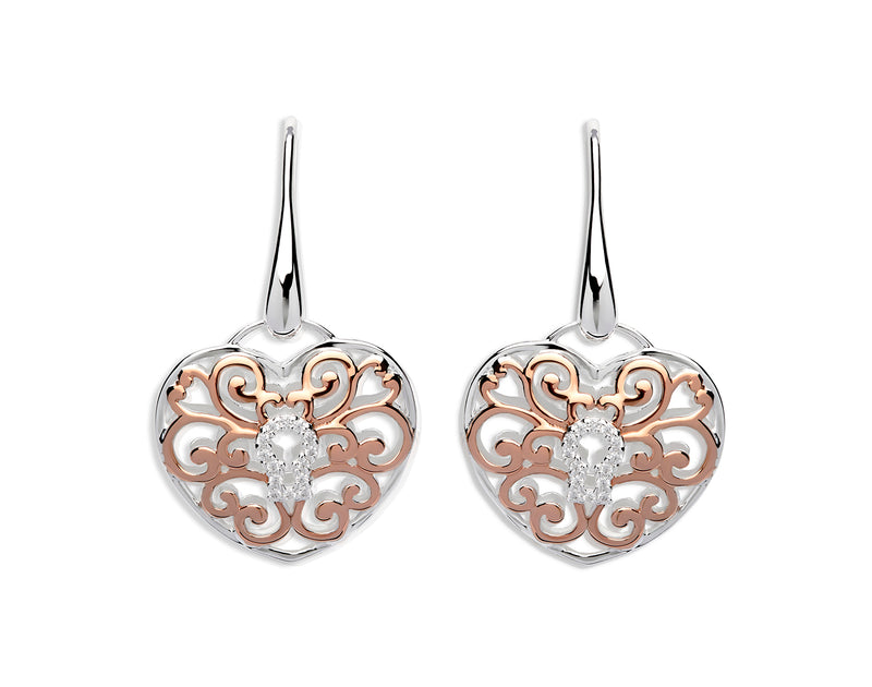 Unique & Co Ladies Sterling Silver Earrings ME-575 - Hamilton & Lewis Jewellery
