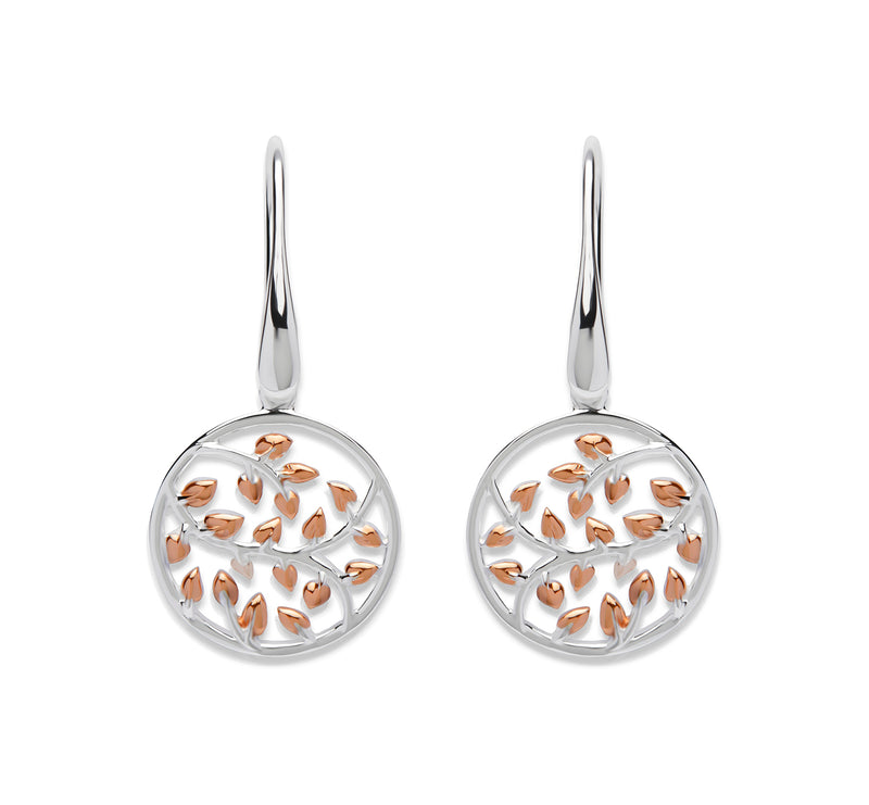 Unique & Co Ladies Sterling Silver Earrings ME-579 - Hamilton & Lewis Jewellery