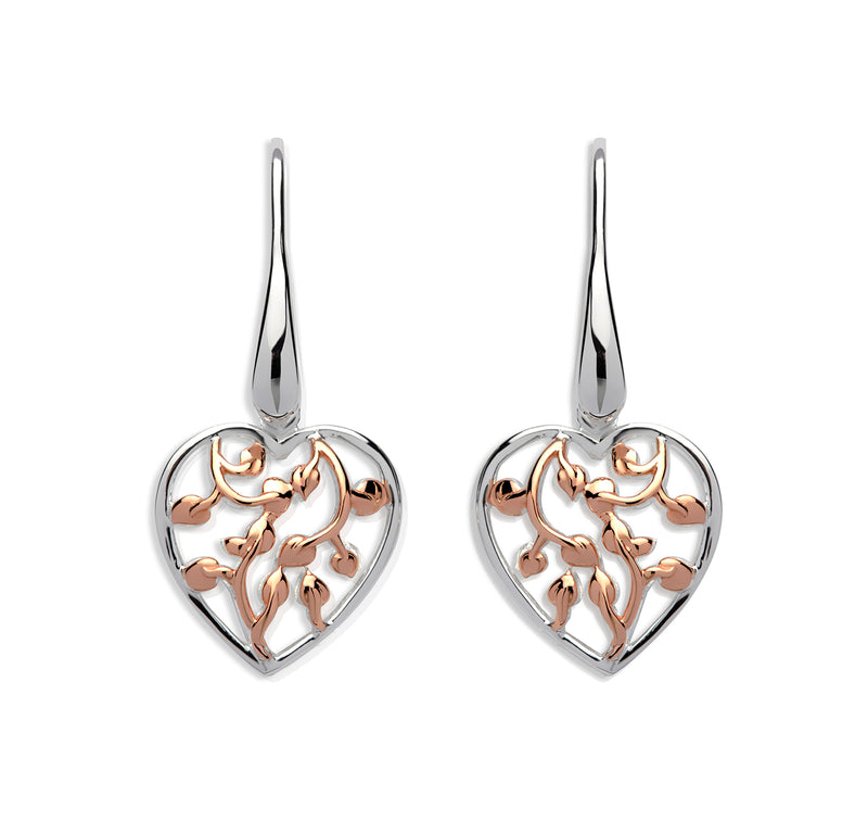 Unique & Co Ladies Sterling Silver Earrings ME-585 - Hamilton & Lewis Jewellery