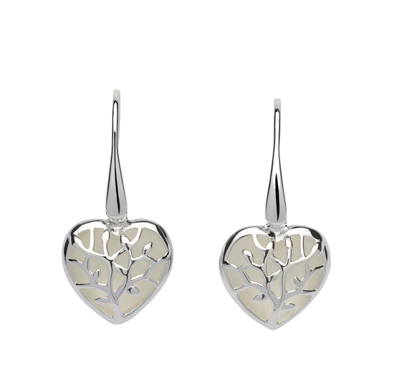 Unique & Co Ladies Sterling Silver Earrings ME-600 - Hamilton & Lewis Jewellery