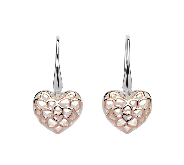 Unique & Co Ladies Sterling Silver Earrings ME-607 - Hamilton & Lewis Jewellery