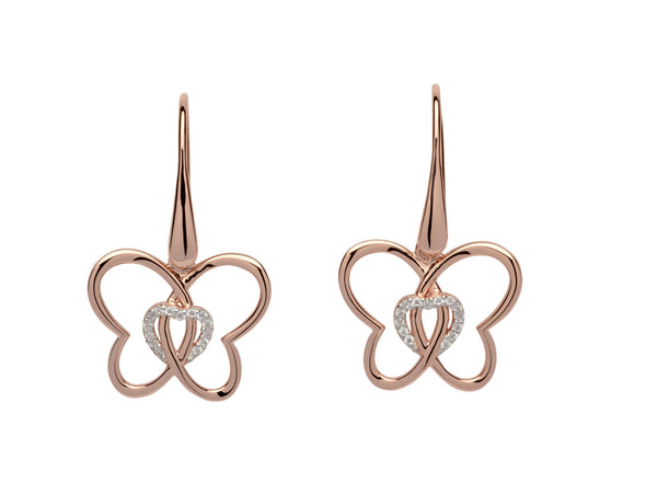 Unique & Co Ladies Sterling Silver Earrings ME-610 - Hamilton & Lewis Jewellery