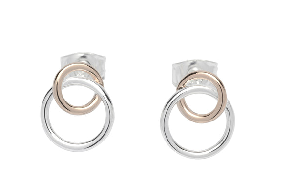 Unique & Co Ladies Sterling Silver Earrings ME-613 - Hamilton & Lewis Jewellery