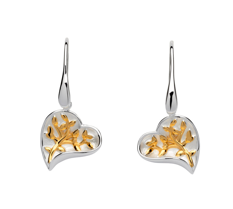 Unique & Co Ladies Sterling Silver Earrings ME-614 - Hamilton & Lewis Jewellery