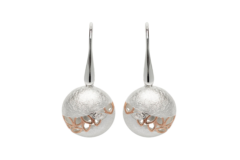 Unique & Co Ladies Sterling Silver Earrings ME-631 - Hamilton & Lewis Jewellery