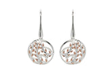 Unique & Co Ladies Sterling Silver Earrings ME-635 - Hamilton & Lewis Jewellery