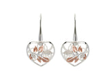 Unique & Co Ladies Sterling Silver Earrings ME-637 - Hamilton & Lewis Jewellery