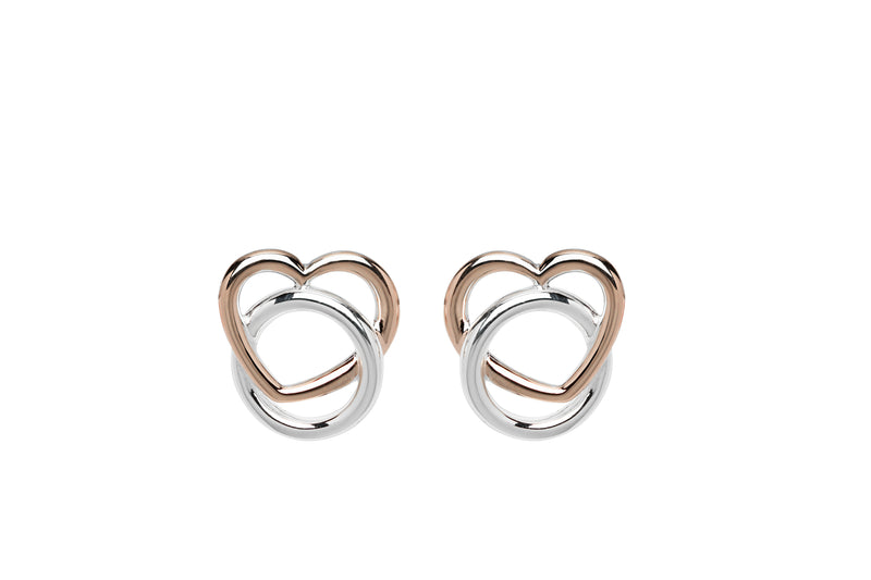Unique & Co Ladies Sterling Silver Earrings ME-638 - Hamilton & Lewis Jewellery