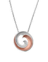 Unique & Co Ladies Sterling Silver Necklace MK-439 - Hamilton & Lewis Jewellery