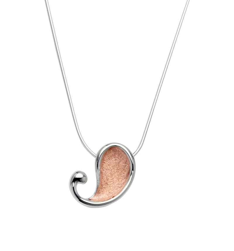 Unique & Co Ladies Sterling Silver Necklace MK-496 - Hamilton & Lewis Jewellery