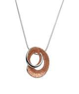 Unique & Co Ladies Sterling Silver Necklace MK-499 - Hamilton & Lewis Jewellery