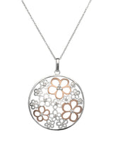 Unique & Co Ladies Sterling Silver Necklace MK-562 - Hamilton & Lewis Jewellery