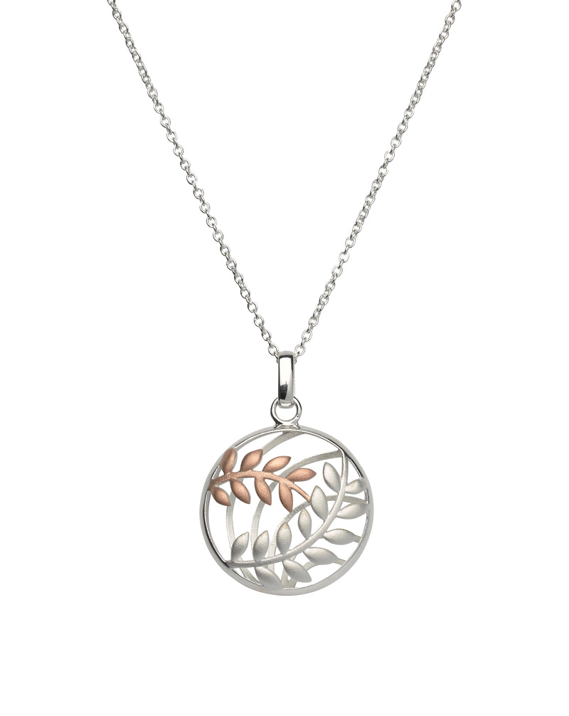 Unique & Co Ladies Sterling Silver Necklace MK-567 - Hamilton & Lewis Jewellery
