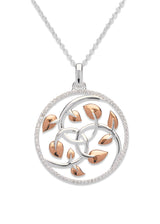 Unique & Co Ladies Sterling Silver Necklace MK-577 - Hamilton & Lewis Jewellery